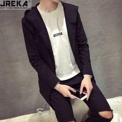 Jacka - Hooded Long Zip Jacket