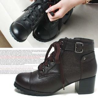 Reneve - Lace-Up Ankle Boots