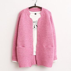 Penguin Island - Open Front Thick Cardigan