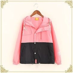 Fairyland - Color Panel Hooded Jacket