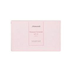 Mamonde - Moisture Ceramide Cream Set: Intense Cream 50ml + Softener 25ml + Emulsion 25ml + Cotton Pad 20pcs