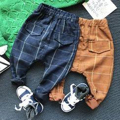 Milmerta - Kids Check Harem Pants