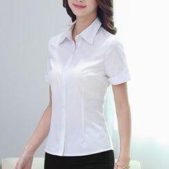 Caroe - Short-Sleeve Dress Shirt