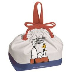 Skater - SNOOPY Drawstring Lunch Bag