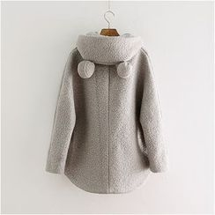 Storyland - Ear-Accent Hooded Coat