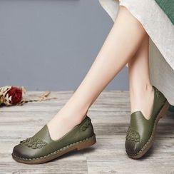 LARKSPUR - Genuine Leather Flats