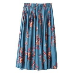 ninna nanna - Floral Print Pleated Skirt