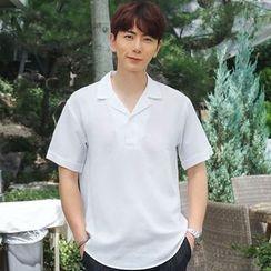 MEOSIDDA - Short-Sleeve Polo T-Shirt
