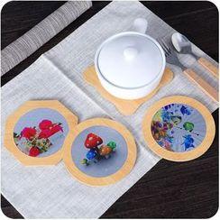Eggshell Houseware - Wooden Coaster