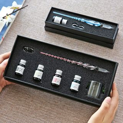 Cute Essentials - Glass Fountain Pen Set