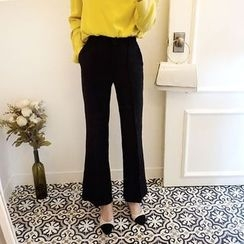 DISCOSALON - Seam-Front Dress Pants