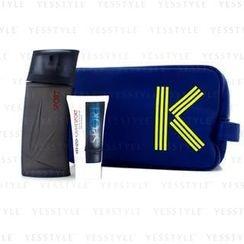 Kenzo - Homme Sport Coffret: Eau De Toilette Spray 100ml/3.4oz + After Shave Balm 50ml/1.7oz + Fashion Pouch