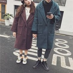 Soulcity - Woolen Long Coat