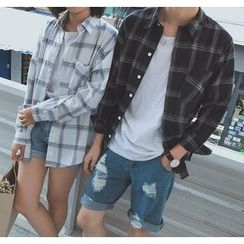 Bestrooy - Couple Matching Plaid Shirt
