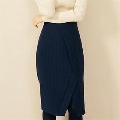 MAGJAY - Slit-Front Skirt