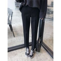 hellopeco - Straight-Cut Dress Pants