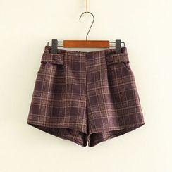 Mushi - Pleated Shorts