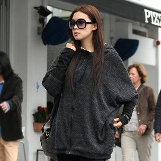 59 Seconds - Oversized Hooded Cardigan