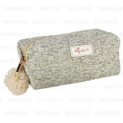 ettusais - Khaki Wicker-Print Bag