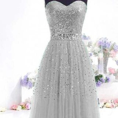 Charlotte - Sequined Ball Gown