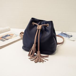 Rosanna Bags - Tasseled Bucket Bag