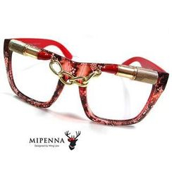 MIPENNA - Lip Stick Red-Glasses with Case