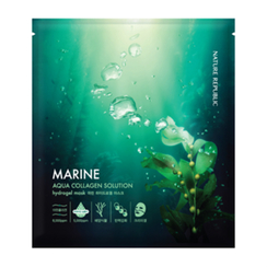Nature Republic - Aqua Collagen Solution Marine Hydrogel Mask (1pc)