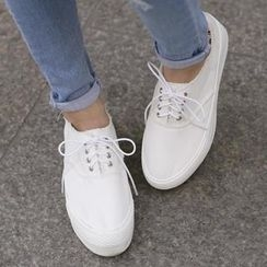 REDOPIN - Canvas Platform Sneakers