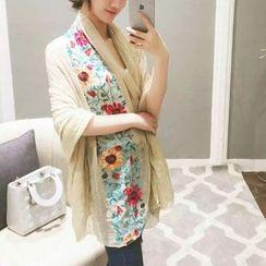 Coolvibe - 刺繡圍巾