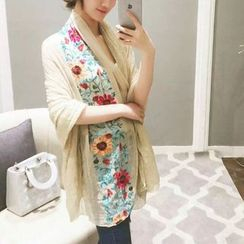Coolvibe - Embroidered Scarf