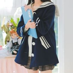 Moricode - 水手领呢子大衣