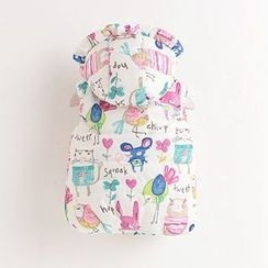 Rakkaus - Kids Printed Hooded Padded Vest