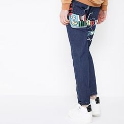 MUKOKO - Printed Harem Jeans