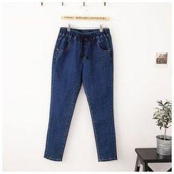 Maymaylu Dreams - 牛仔裤。帅气休閒男友长裤