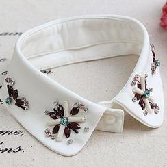 MIOW - 綴飾裝飾領子