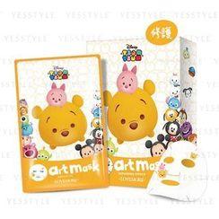 LOVEMORE - Tsum Tsum Repairing Effect Art Mask (Winnie the Pooh)