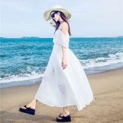 MayFair - Off-Shoulder Sundress