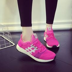 Pangmama - Lace-Up Athlete Sneakers