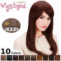 Wigs2You - Long Full Wig -  Straight