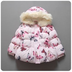 Rakkaus - Kids Hooded Padded Jacket
