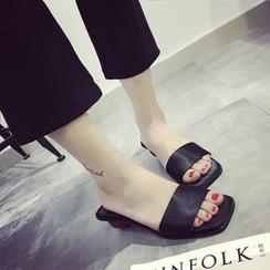 BAYO - Heeled Slippers