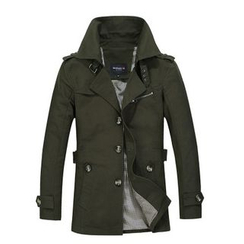 Debon - Single Breasted Trench Jacket