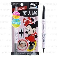 BCL - Browlash Ex Water Strong W Eyebrow Minnie Mouse Edition (Grey Brown)