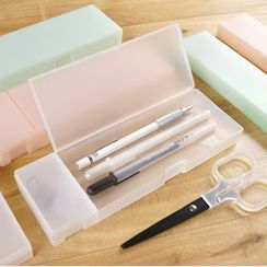 Cute Essentials - Translucent Pencil Case