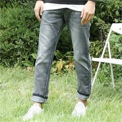 BYMONO - Washed Tapered Jeans