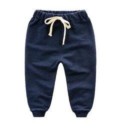 Kido - 兒童抽繩長褲