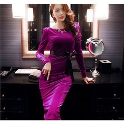 RJ Story - Long-Sleeve Evening Dress