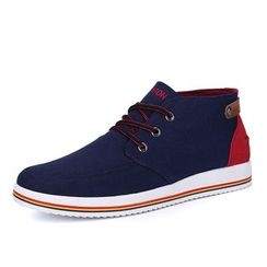 EnllerviiD - Canvas High-Top Sneakers