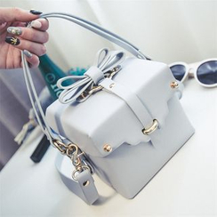 Nautilus Bags - Bow Cube Shoulder Bag