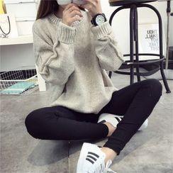 Qimi - 垂肩毛衣
